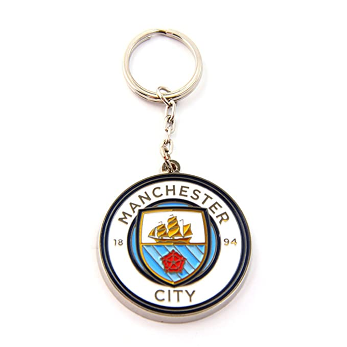 Amazon.com: Manchester City FC Oficial metal Fútbol/Fútbol ...