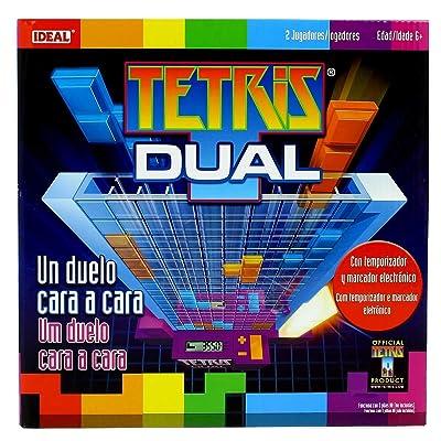 ELEVEN FORCE Tetris Dual Electronic, Transparent (10896): Toys & Games