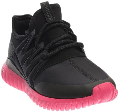 purchase cheap 29862 4c42d adidas Tubular Radial Men s Shoes Core Black Equipment Pink s75393 (7.5 D(M