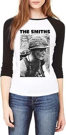 Topcloset The Smiths Meat is Murder Women Baseball Shirt