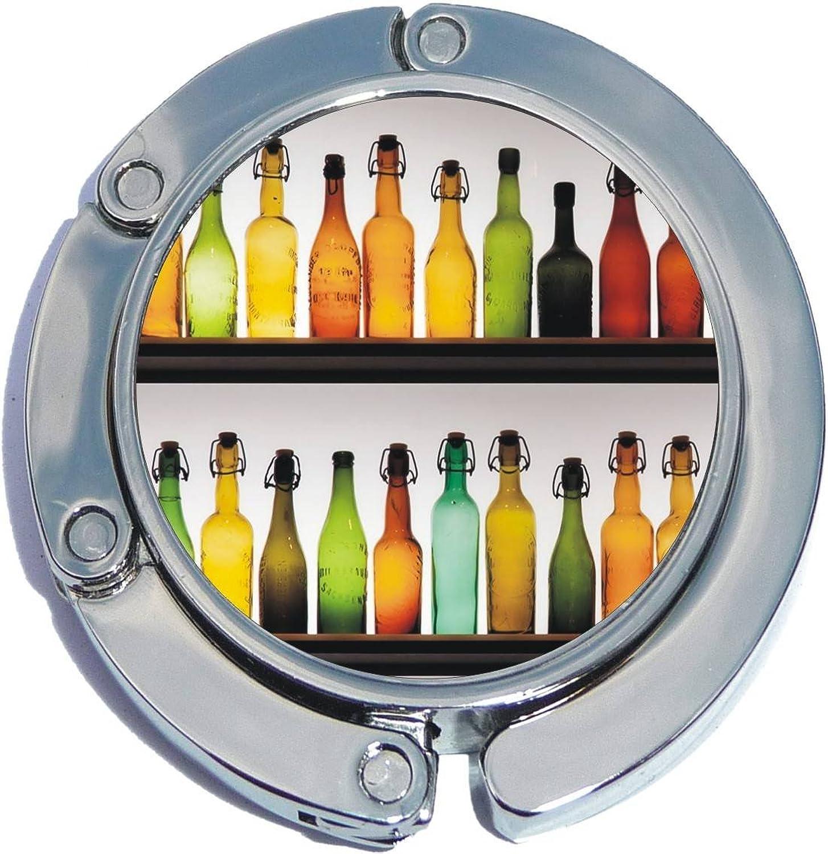 Colorful Bottles Foldable Purse Hanger