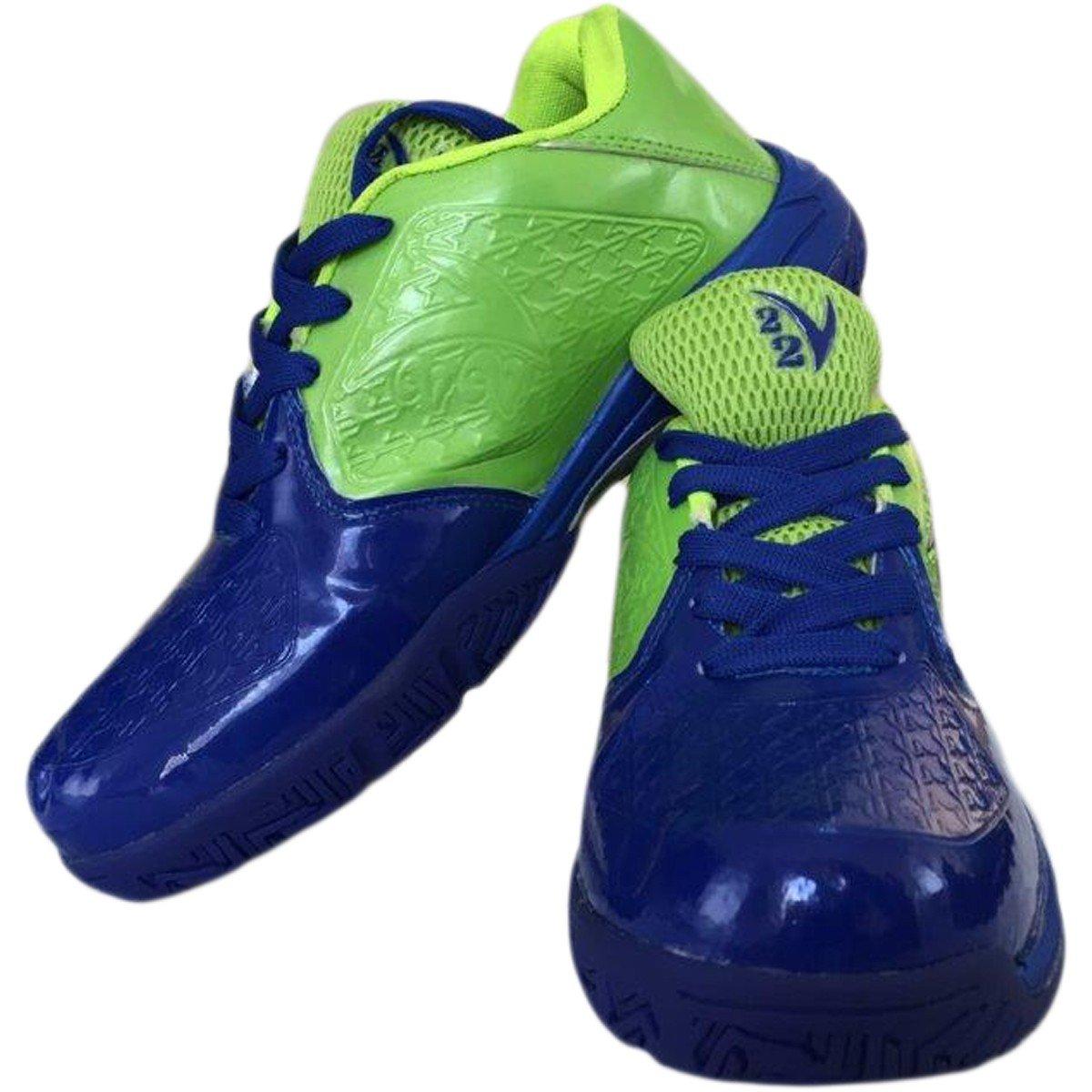 Buy V22 Champ Tennis Court Shoes - Blue