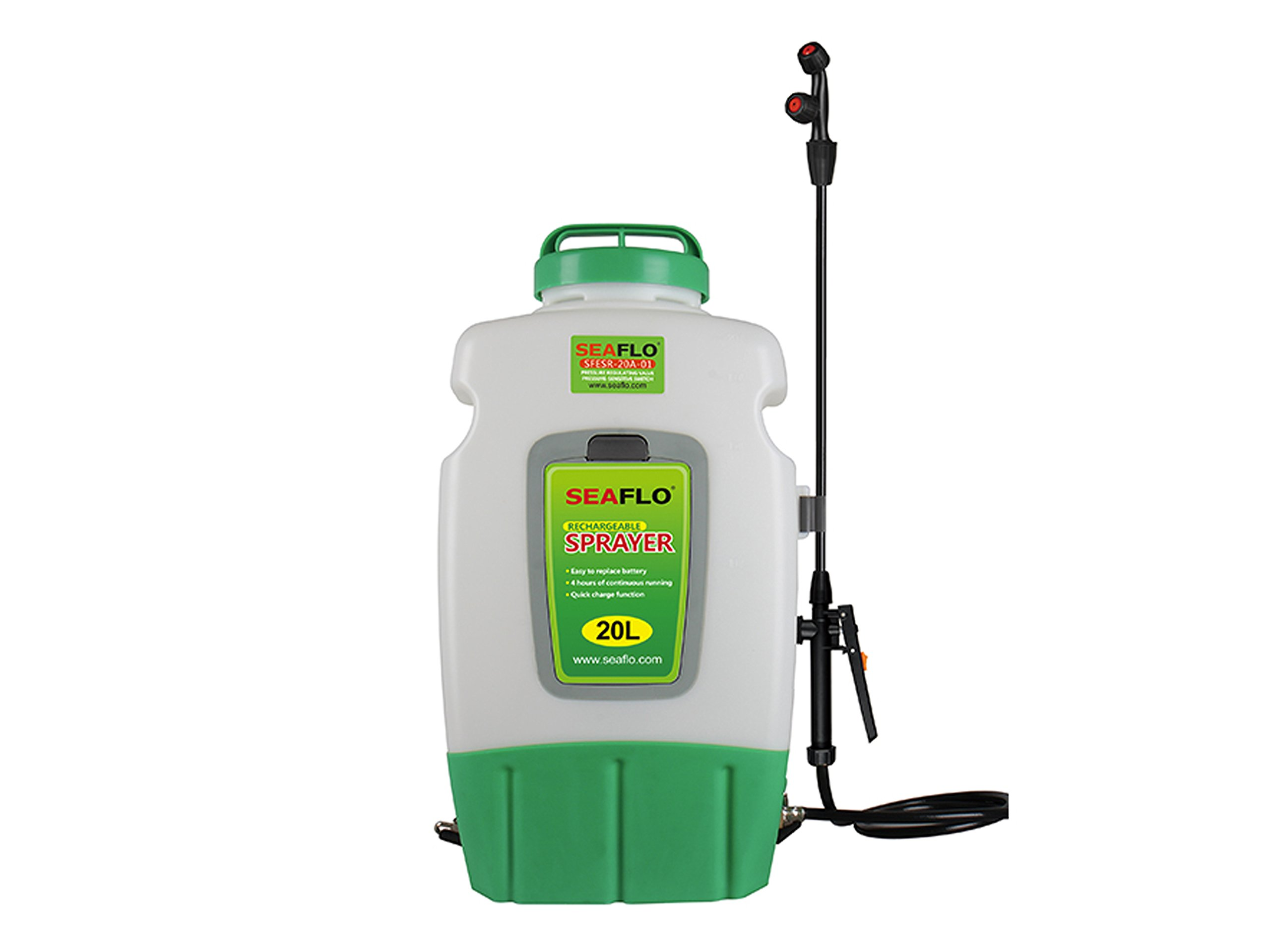 Seaflo 20L Knapsack Agricultural Electric Sprayer BC-4130 by Seaflo
