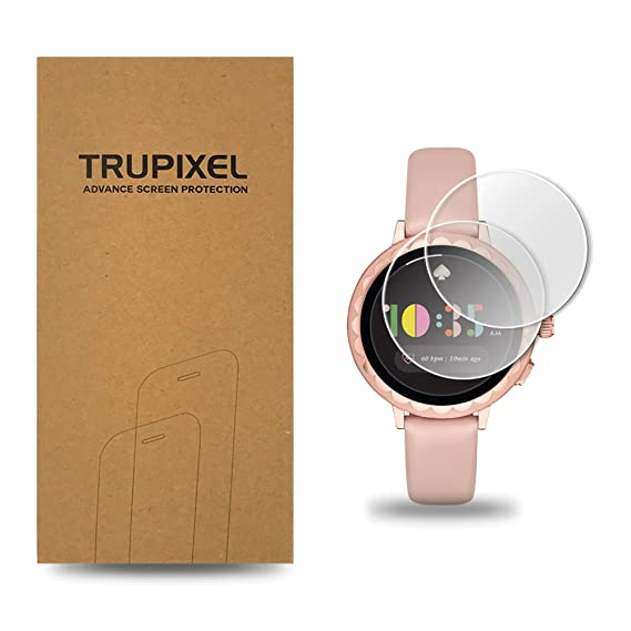 4XG TruPixel Nano Compatible with Kate Spade Scallop Smartwatch 2 (2nd Gen) Screen Protector (2-Pack)