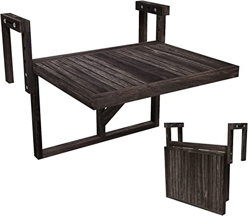 Interbuild Stockholm Folding Balcony Deck Table