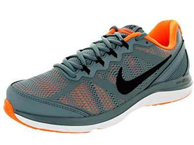 591022e9e7d033 Nike Men s Dual Fusion Run 3 Bl Graphite Blk TTL Orng White Running ...