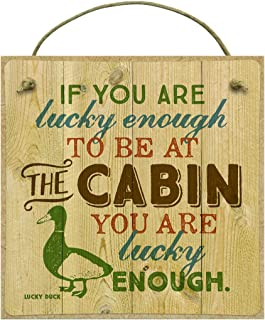 product image for Imagine Design Lucky … Cabin Magnet, Multi