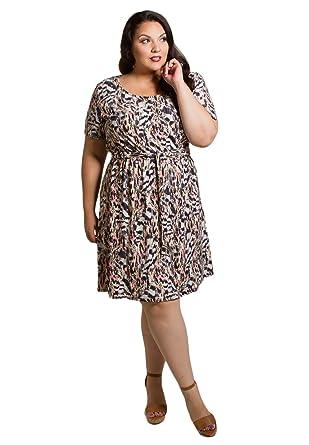Sealed With A Kiss Designs Plus Size Dress Megan Dress 5x Pink