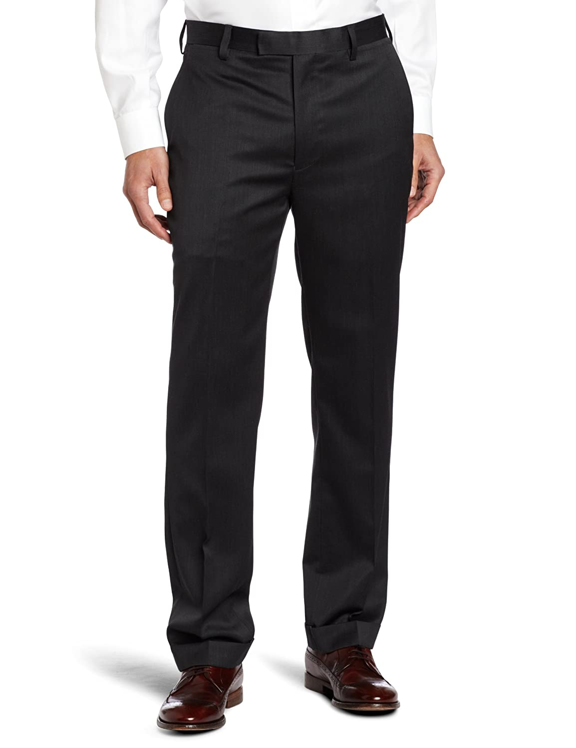 Louis Raphael mens Modern fit wool blend solid dress pant A288P 955