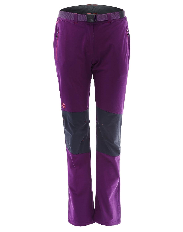 Ternua ® Freyder W Pantalones, Mujer, Morado (Dark Violet), L