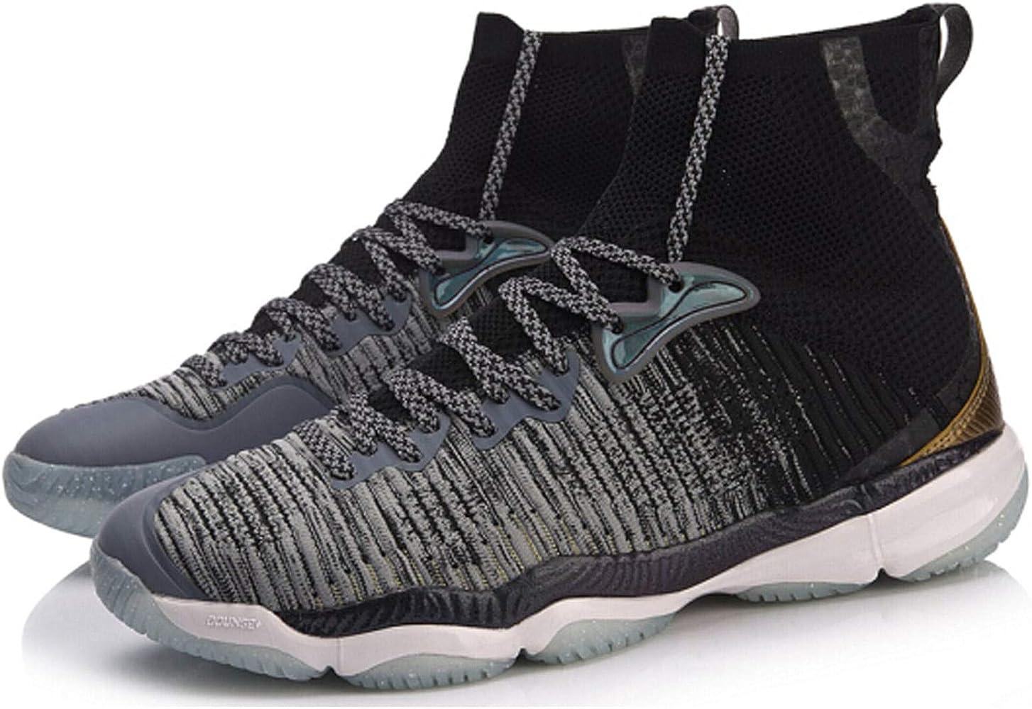 Li Ning Ranger 2.0 - Zapatillas de bádminton, Color Negro, Color Negro, Talla 45 EU: Amazon.es: Zapatos y complementos