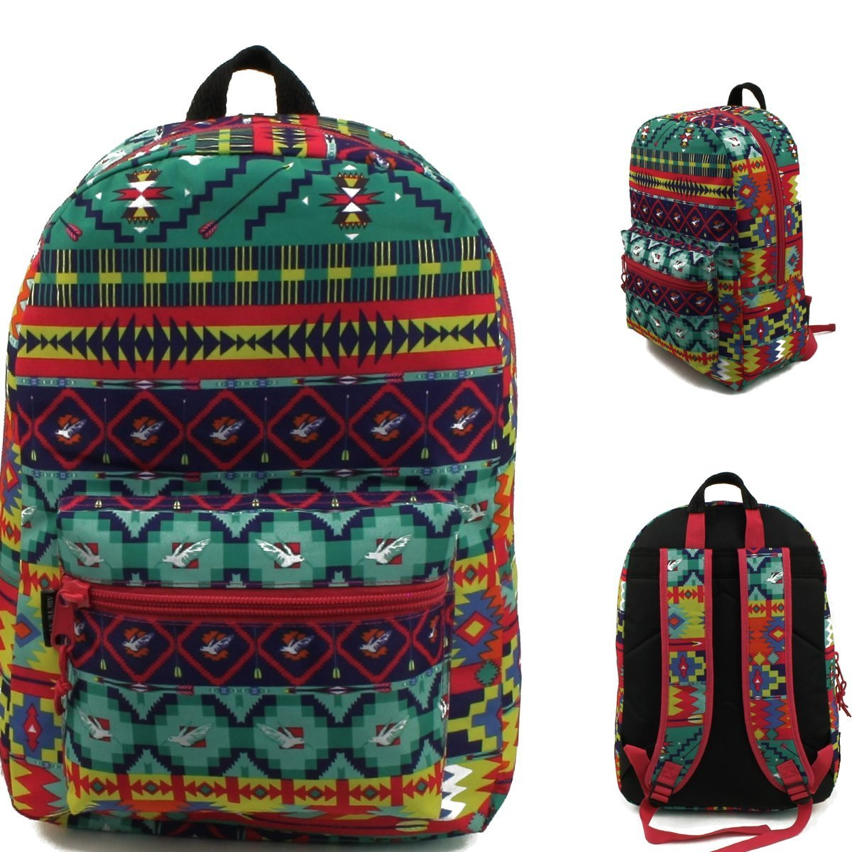 17'' Wholesale Padded Fashion Backpack - Case of 24 by Arctic Star (Image #1)