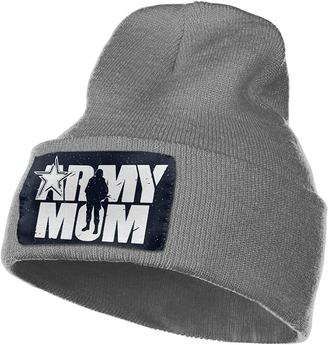TAOMAP89 Army Mom Women and Men Skull Caps Winter Warm Stretchy Knit Beanie Hats