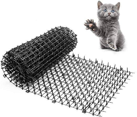 Gardentisan - Esterilla para Gato con Pinchos de plástico y Tira ...