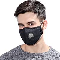 Simpson Dust Mask Reusable Anti Dust Unisex Mouth Face Mask, Filter Replacement Breathable Earloop Anti Smoke Pollution…