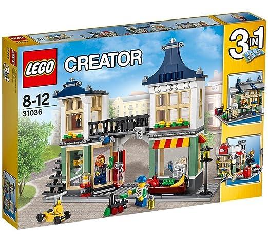 27 opinioni per LEGO Creator 31036- Negozio di Giocattoli e Drogheria