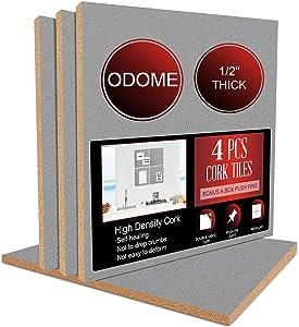 ODOME Cork Board Tiles 12