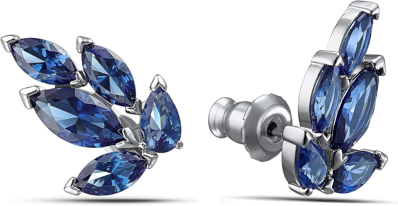 15329 Crookston Women Earrings Crystal Long Chain Bowknot Geometry Stud Ear Jewelry Gift Model ERRNGS