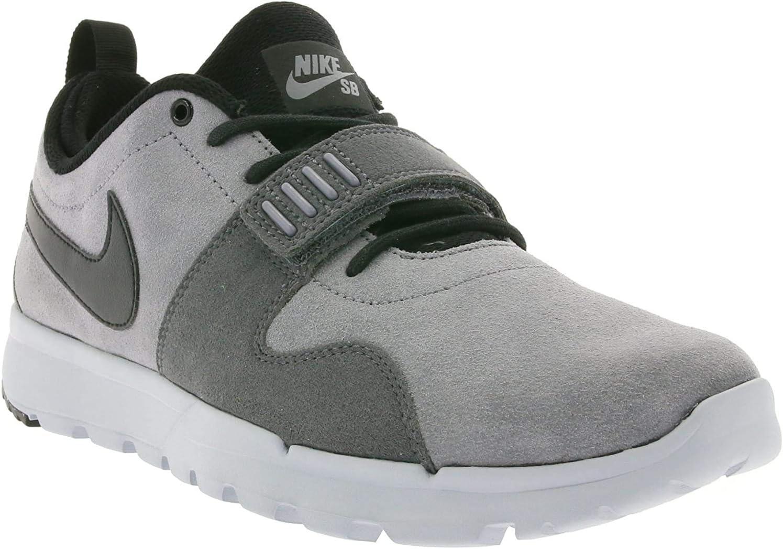 Nike Sb Trainerendor L Mens Trainers 806309 Sneakers Shoes Cool Grey Black Dark Grey 001