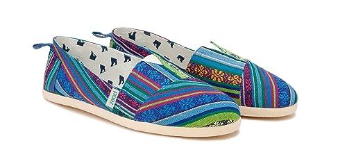 Paez - Alpargatas de Lona para Hombre, Color Azul, Talla 46: Amazon.es: Zapatos y complementos