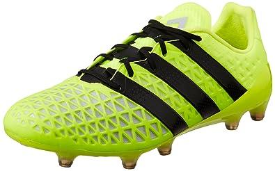 best service 17671 4a623 adidas ACE 16.1 FG - Bottes de football pour Homme, Jaune, Taille 40
