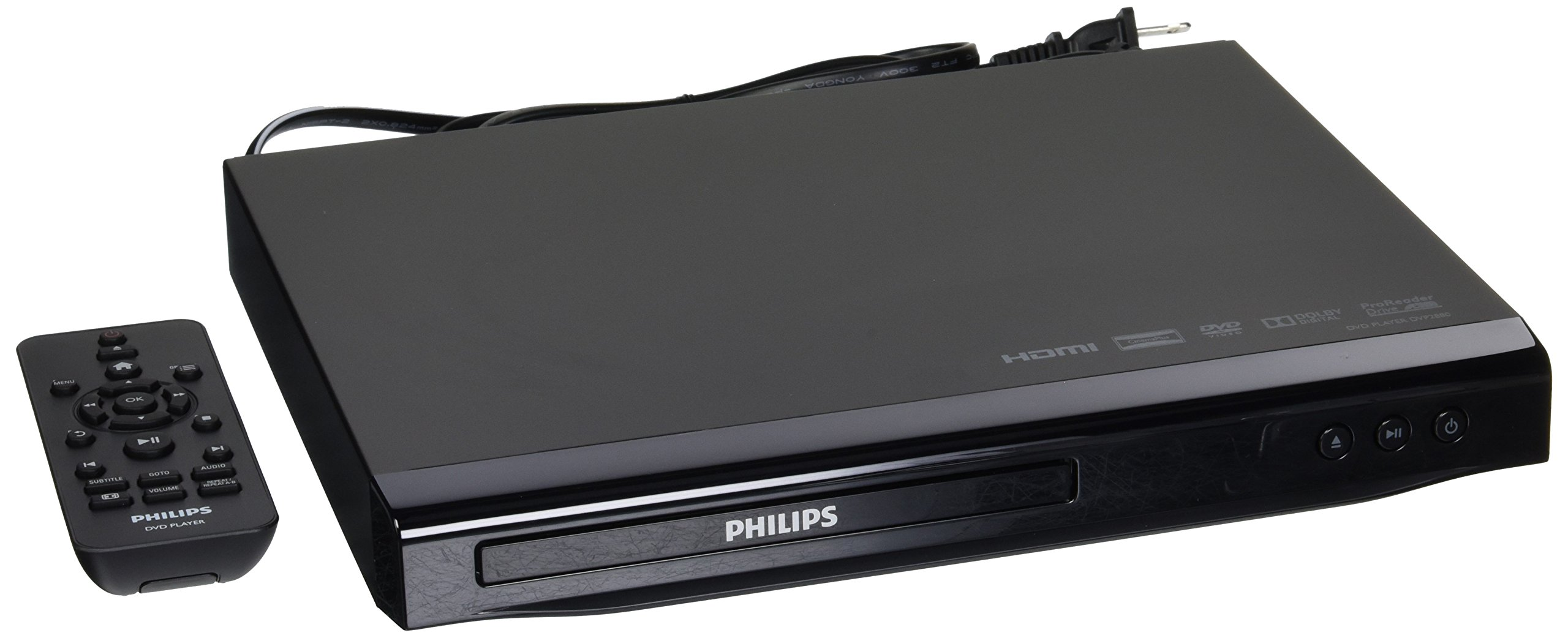 Philips Region Free DVD Player - 1080p HDMI Upconverting - PAL/NTSC
