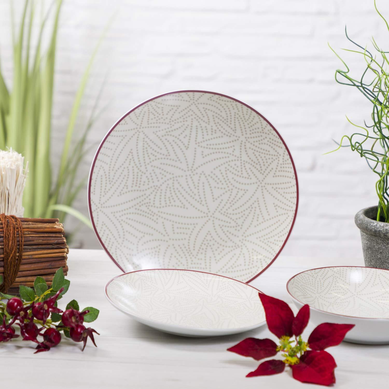 Set da tavola santa Cruz 18 pezzi in porcellana