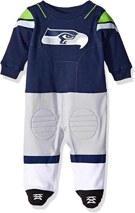 NFL Baby-Boy Team Footysuit Coverall