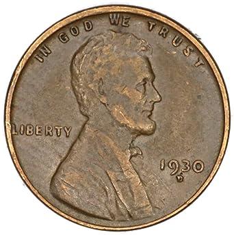 1930 S COPPER PENNY--BETTER GRADE