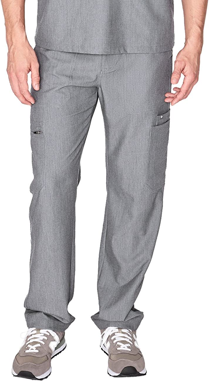 FIGS Cairo Cargo Scrub Pants for Men – Relaxed Fit, Super Soft Stretch, Anti-Wrinkle Medical Scrub Pants