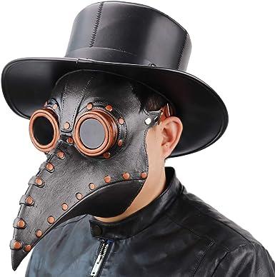 Halloween Bird Skull Crow Plague Doctor Mask