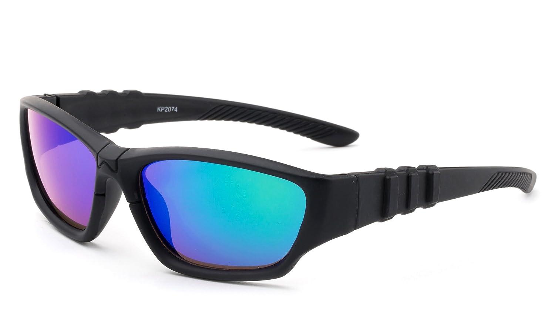 Newbee Fashion 1-5 Years Sporty Kyra Kids Sport Design Wrap Around Flash Sunglasses