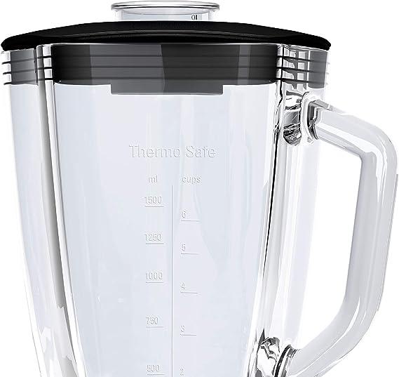 Bosch SilentMixx Pro-Batidora de Vaso (Cristal ThermoSafe, 3 ...