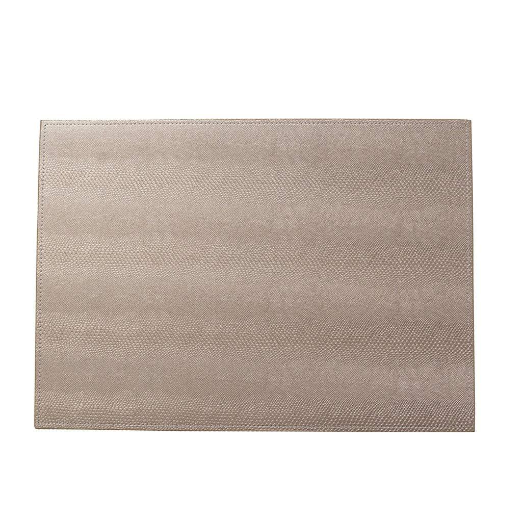 Placemat Pads - テーブルウェアパッドテーブル防水および耐油絶縁西部Placemat (色 : A, サイズ さいず : (6 piece)) (6 piece) A B07NVBRVQP