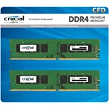 CFD販売 デスクトップPC用メモリ PC4-19200(DDR4-2400) 8GB×2枚 / 288pin / 無期限保証 / Crucial by Micron / W4U2400CM-8G