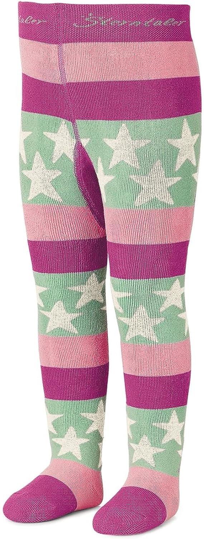 pink-rosa 8721700pr M/ädchen Strumpfhose Thermo Strumpfhose mit Sternen Sterntaler