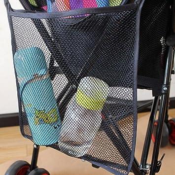 99db3b8ea1 Amazon.com : Sbeautli Casual Useful Fashion Stroller Organizer Mesh Bottle  Holder Hanging Storage Bag Baby Product : Baby