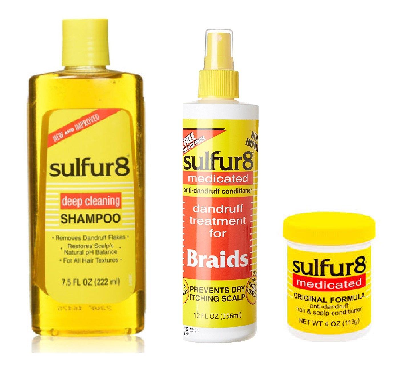 Sulfur 8 Dandruff Treatment (COMBO)