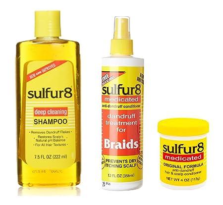 Sulfur 8 Dandruff Treatment COMBO