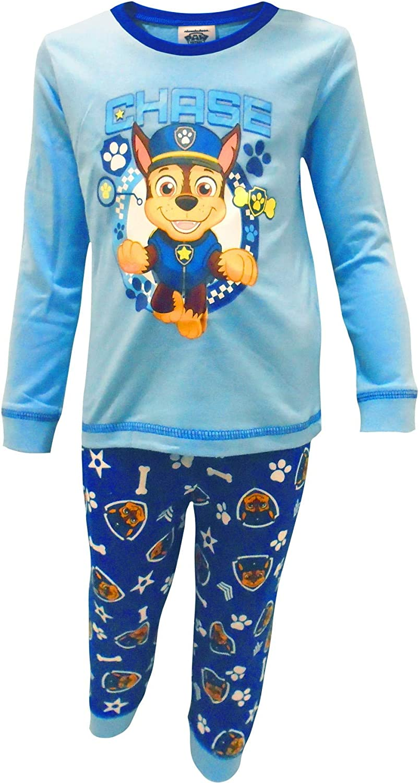 Paw Patrol Chase Baby Boys Two Piece Pajama Set 6-9 Months Blue