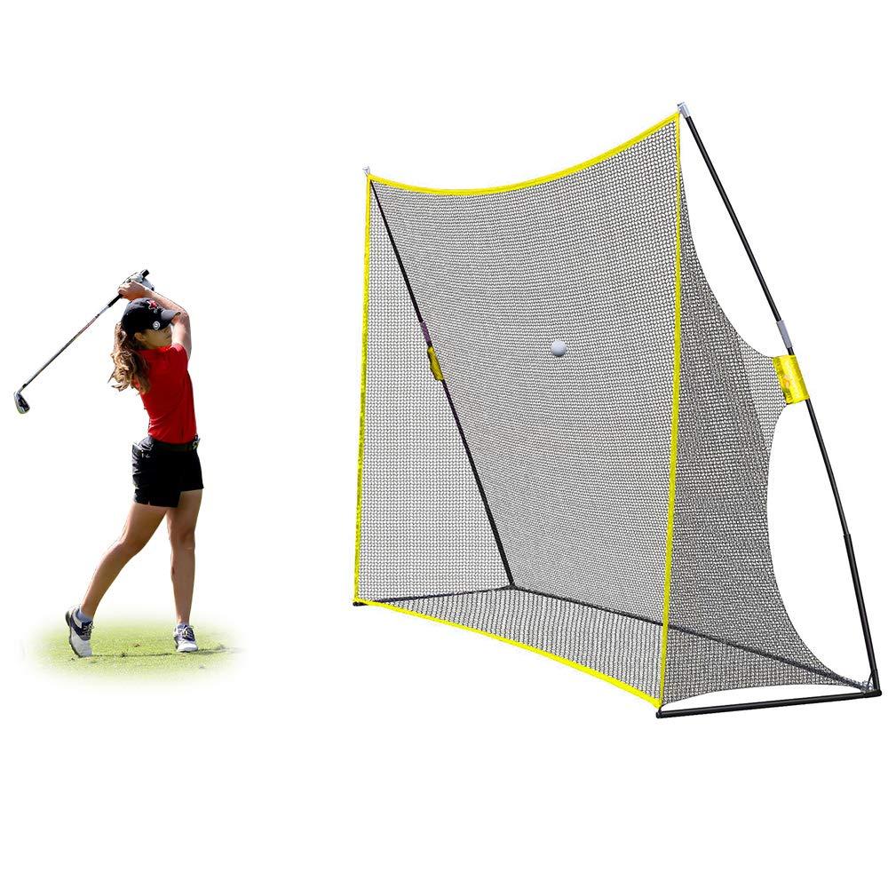 PodiuMax 10x7ft Golf Hitting Net | Driving Range for Backyard & Indoor | Also Suitable for Soccer, Baseball, Softball Practice by PodiuMax