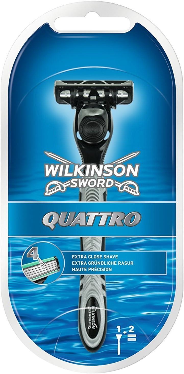 Wilkinson - Quattro Máquina + 2 Cabezales