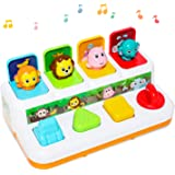 baccow Baby Toys 6 to 12-18 Months Musical Learning Pop-up Toys for 1 2 3 Year Old Boys Girls Gifts Kids Toddler Infant…
