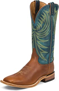 product image for Tony Lama Men's Sunrebel Americana Cowboy Boot Wide Square Toe