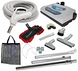 Long Flexible Hose Accessory Tool Kit for most Garage and Central Vacuum Cleaner