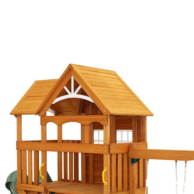 amazon com summerstone cedar summit playset toys u0026 games