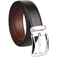 Amicraft Boy's Casual & Formal PU Leather Reversible Belt Black/Brown (Size 28-44 Cut to fit men's Belt)