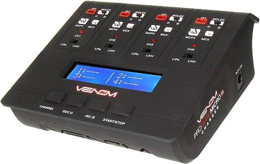 Amazon.com: Pro Quad Micro 1S 4 canales AC/DC Lipo & lihv ...