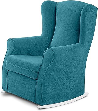 Sillon orejero/sillon balancin perfecto para dormitorio o salon,Balancin bebe de lactancia, para el