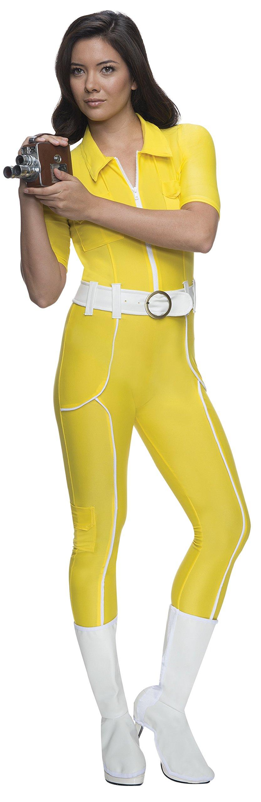Rubie's Costume Teenage Mutant Ninja Turtles Deluxe April O'neil Jumpsuit, Yellow, Large Costume